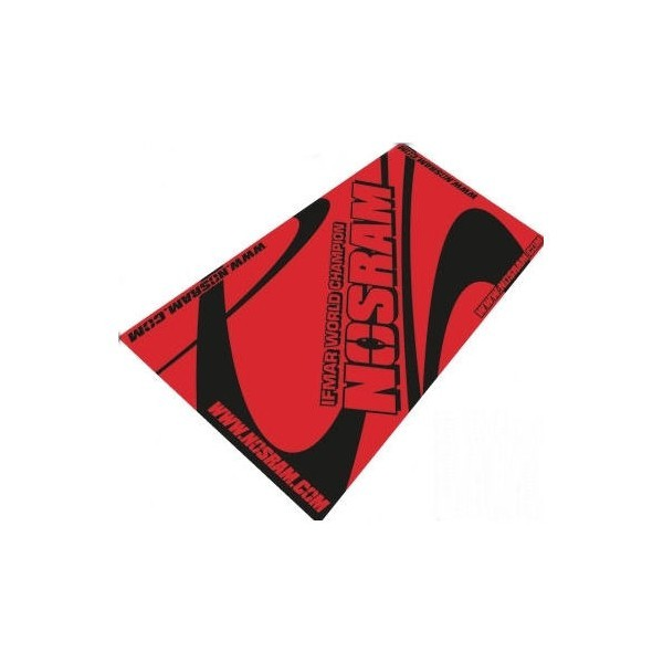 Nosram pit towel RED
