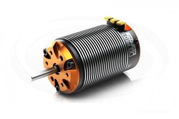 SKYRC TORO X8 Pro 1/8 Buggy Brushless Sensor Motor 4Pole 4S 2400W/2150KV