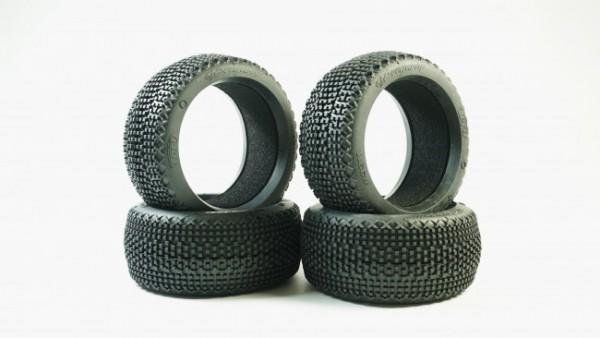 TPRO 1/8 OffRoad COUGAR SOFT Racing Tire & Insert XR T3 (4)