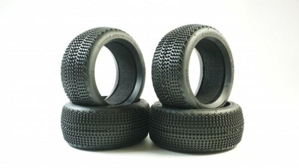 TPRO 1/8 OffRoad LOOPER SUPER SOFT Racing Tire & Insert XR T4 (4)